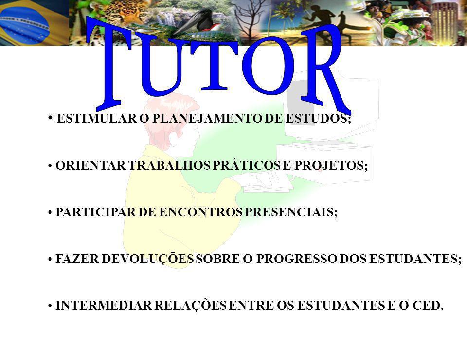 Segundo Armengol (1986), o tutor realiza as seguintes atividades: COMENTAR TRABALHOS ESCRITOS; COLABORAR PARA A COMPREENSÃO DO MATERIAL INSTRUCIONAL,