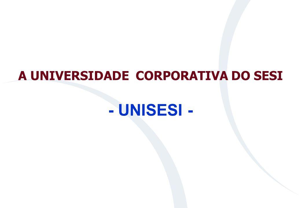 A UNIVERSIDADE CORPORATIVA DO SESI - UNISESI -