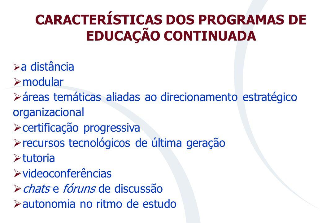 DIRETRIZES PEDAGÓGICAS educação continuada e conhecimento em rede como paradigmas educativos; conceito de competências como núcleo estruturador de pro