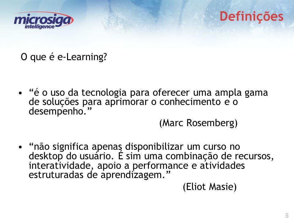 5 Definições O que é e-Learning.