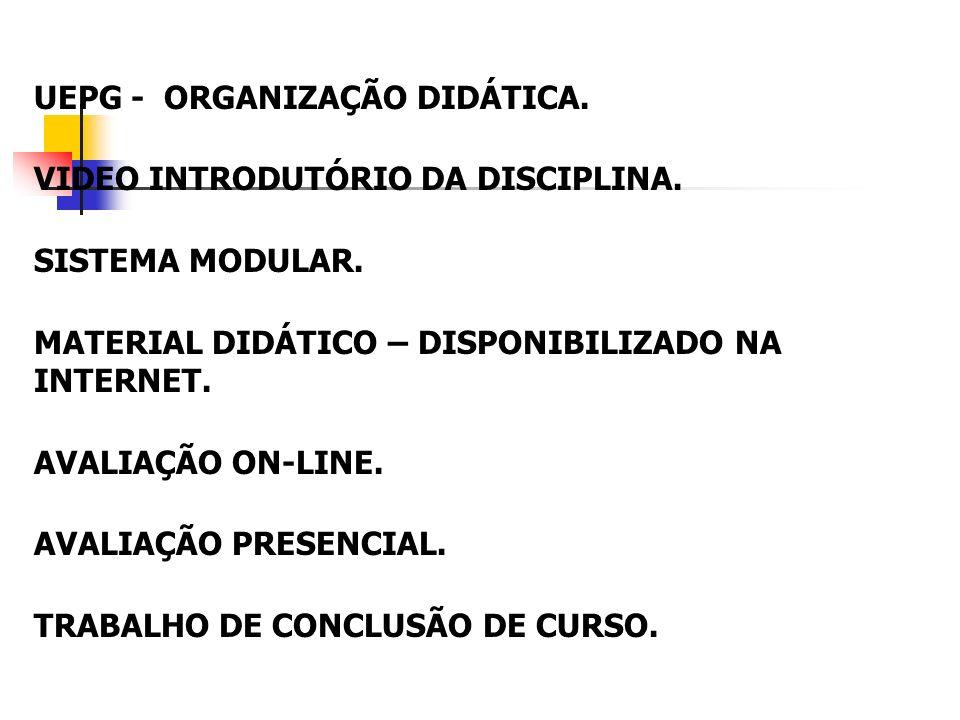 UNIVERSIDADE ESTADUAL DE PONTA GROSSA INSTITUTO BASE DE CONTEÚDOS E TECNOLOGIAS EDUCACIONAIS LTDA NÚCLEO DE TECNOLOGIA EDUCACIONAL ABERTA À DISTÂNCIA ESPECIALIZAÇÃO EM INCLUSÃO EDUCACIONAL O CEGO E A INCLUSÃO EDUCACIONAL NA UNIVERSIDADE ESTADUAL DE PONTA GROSSA: DESAFIOS E PERSPECTIVAS CÉLIA REGINA DE SOUZA E SILVA