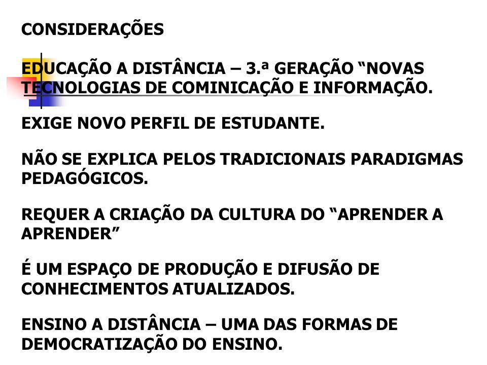 REFERÊNCIAS BRANDT, C.