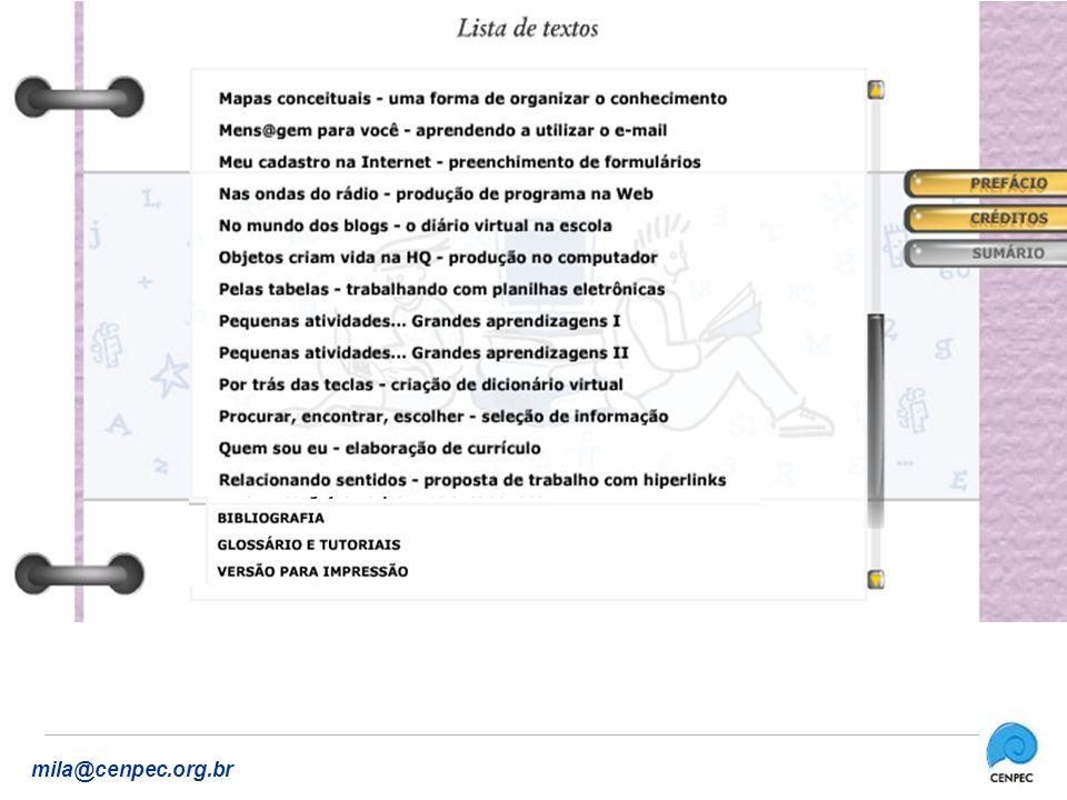 www.educarede.org.br mila@cenpec.org.br