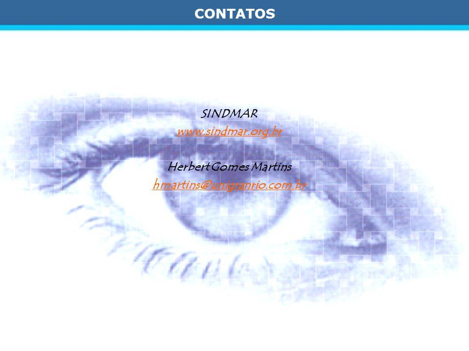CONTATOS SINDMAR www.sindmar.org.br Herbert Gomes Martins hmartins@unigranrio.com.br