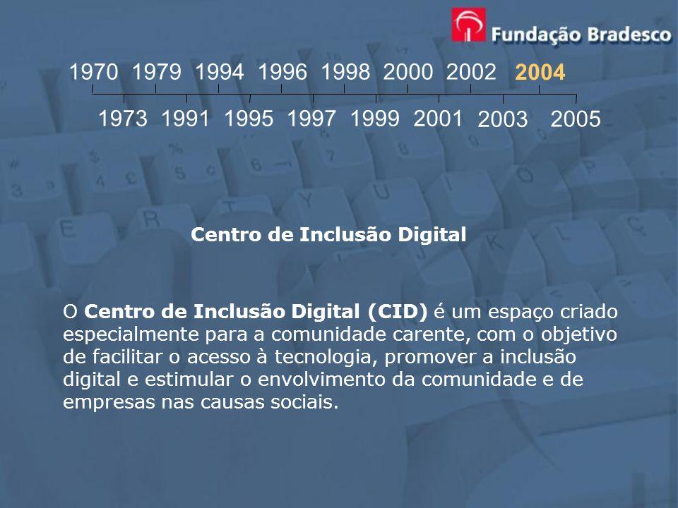 O Centro de Inclusão Digital (CID) é um espaço criado especialmente para a comunidade carente, com o objetivo de facilitar o acesso à tecnologia, prom