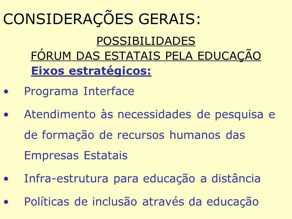 CRIAÇÃO E CONSOLIDAÇÃO DA ASSOCIAÇÃO NACIONAL DE TECNOLOGIAS EDUCACIONAIS - ANTE - (OCIP)