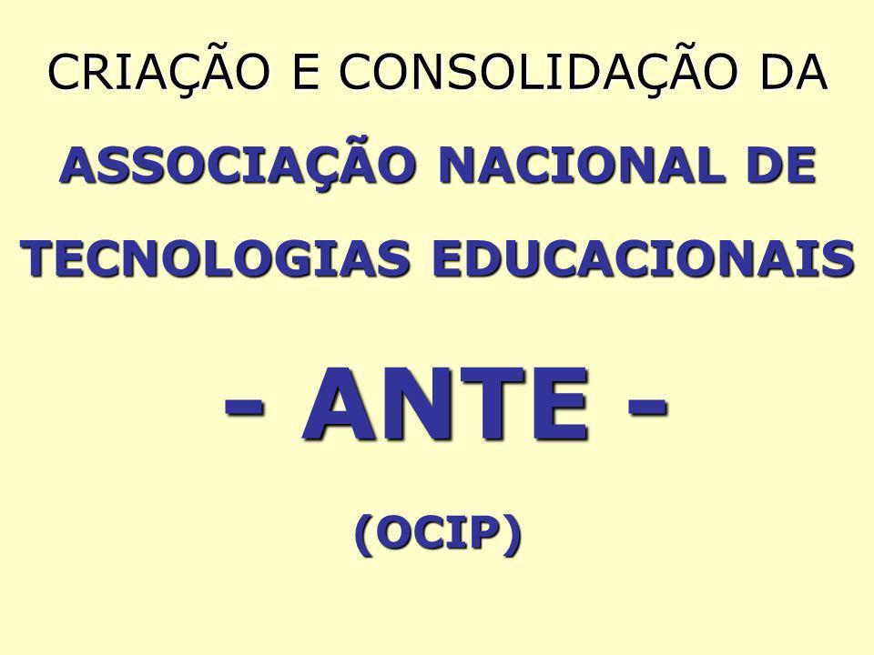 MISSÕES GERAIS PROPOSTAS PARA A ANTE: 1) Criação de Programa de Bolsas de Pesquisa em EAD; 2) Organização de Consórcios Estaduais de Universidades; 3) Consolidação das Bases da Futura Universidade Aberta do Brasil -UAB MISSÕES GERAIS PROPOSTAS PARA A ANTE: 1) Criação de Programa de Bolsas de Pesquisa em EAD; 2) Organização de Consórcios Estaduais de Universidades; 3) Consolidação das Bases da Futura Universidade Aberta do Brasil -UAB