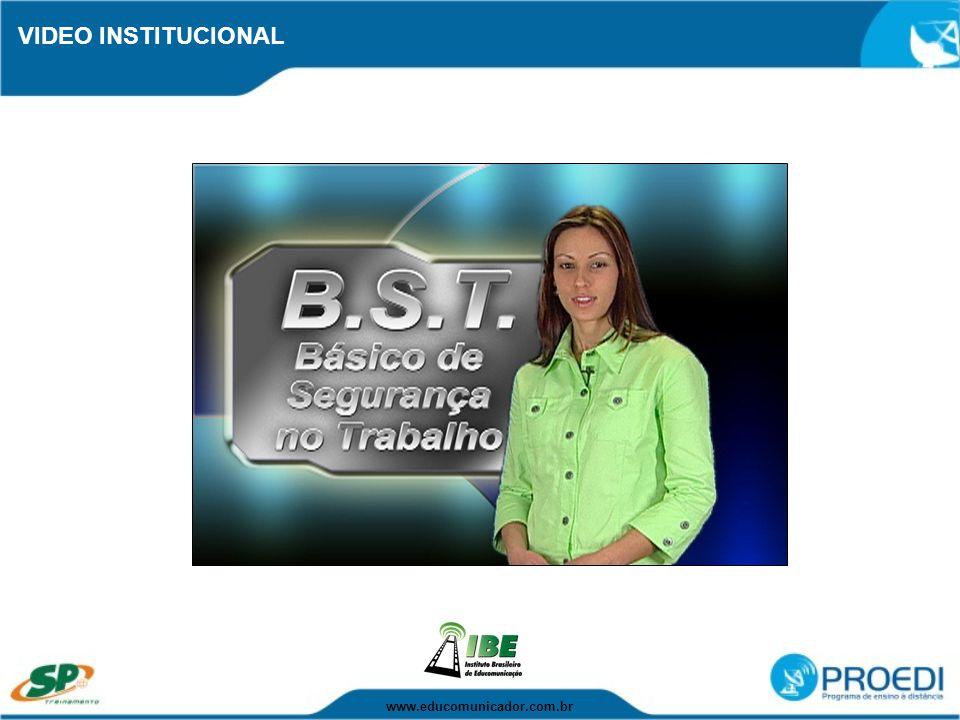 VIDEO INSTITUCIONAL www.educomunicador.com.br
