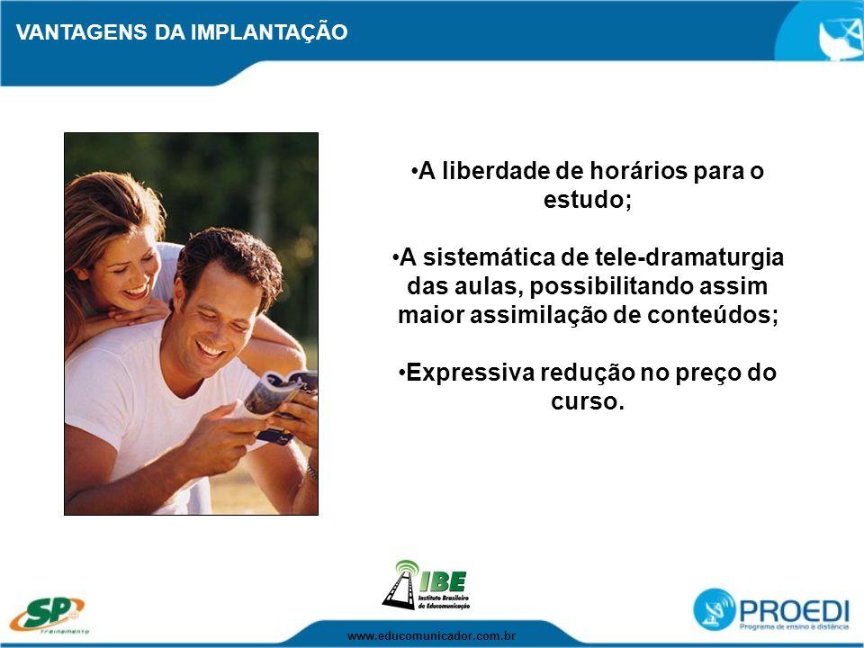 ESCOPO DA PARCERIA Qualquer entidade organizada pode se tornar parceira do PROEDI.