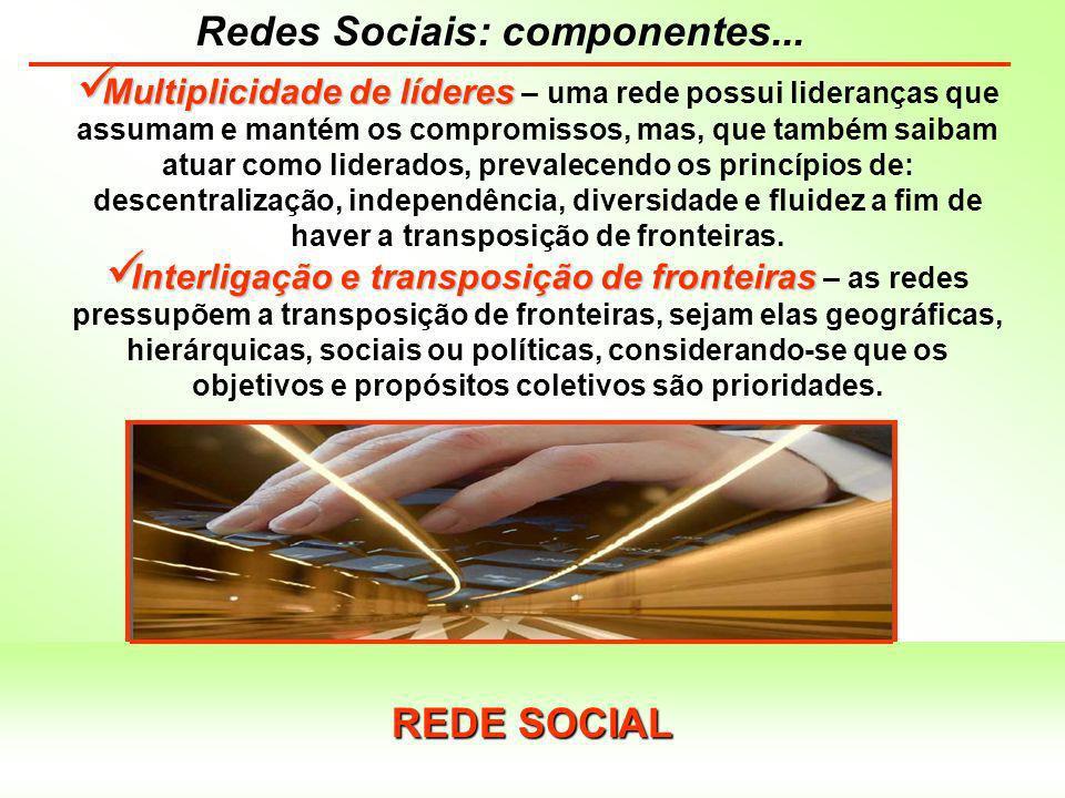 Redes Sociais: articulações...