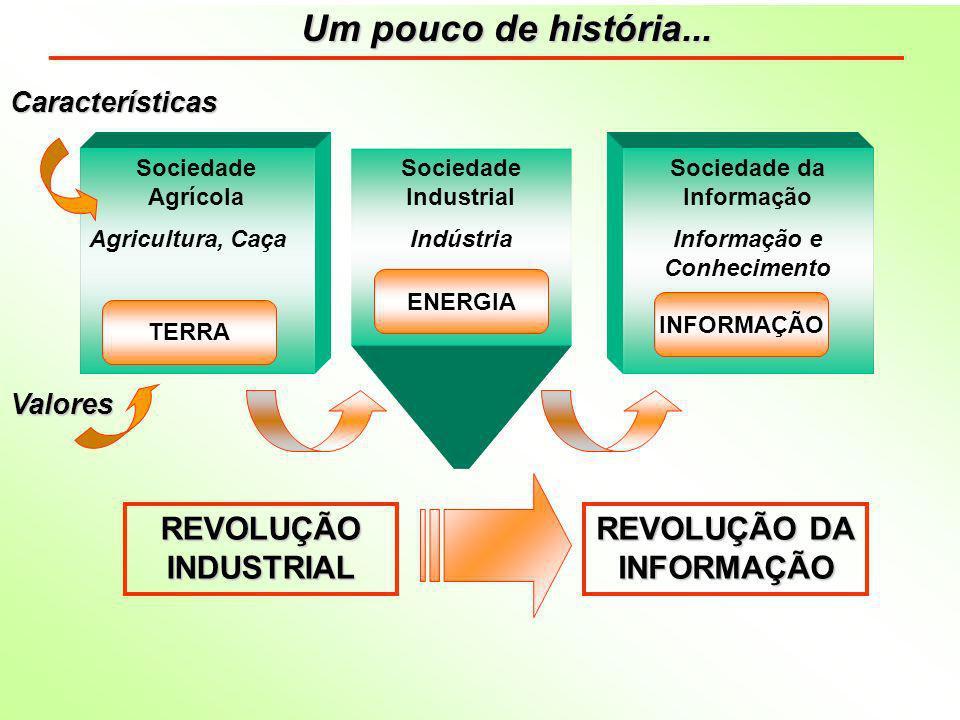 O conhecimento e a informação são os recursos estratégicos para o desenvolvimento de qualquer país.