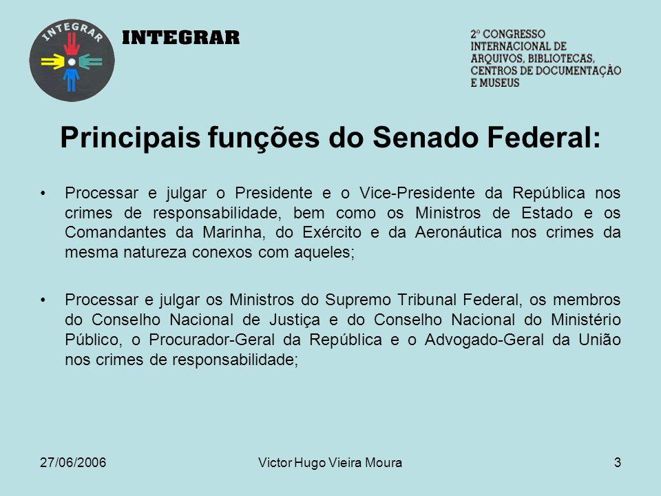 27/06/2006Victor Hugo Vieira Moura34 NAVEGAR É PRECISO