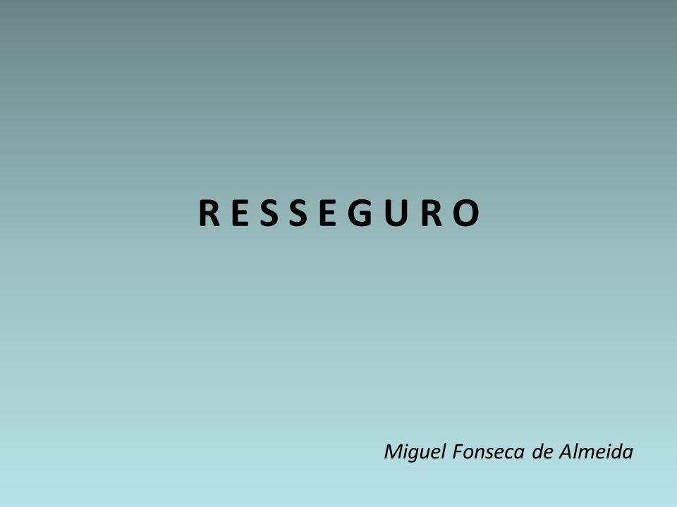 R E S S E G U R O Miguel Fonseca de Almeida