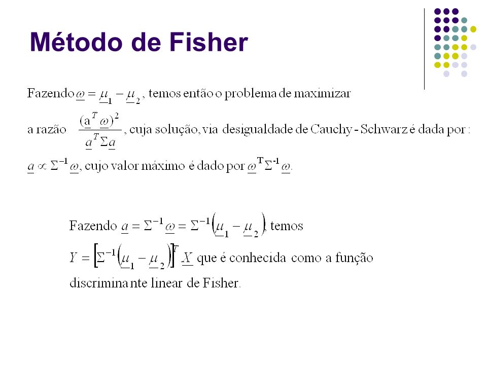 Método de Fisher