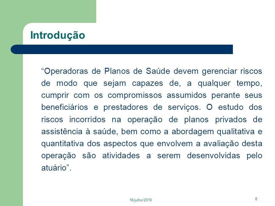 16/julho/2010 39 Perfil do Setor - Odontológico