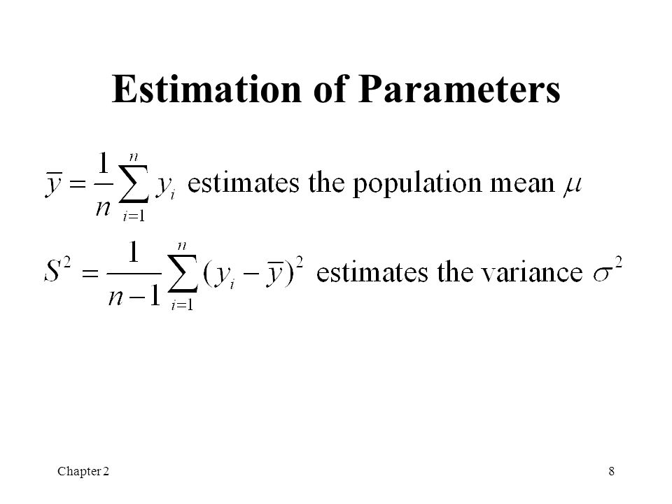 Chapter 29 Summary Statistics (pg. 36) Formulation 1 New recipe Formulation 2 Original recipe