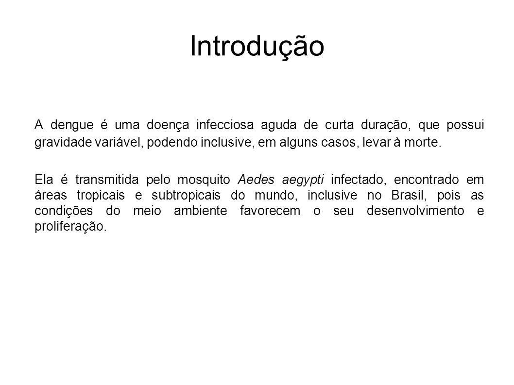 Descrição do problema Com base no banco de dados disponível, referente aos anos de 2001 e 2002, verificar a possibilidade de predizer se o indivíduo possui ou não dengue através dos dados clínicos.