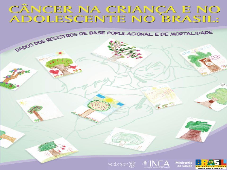 MORTALIDADE No Brasil, o câncer é uma das cinco principais causas de morte na faixa etária 1 a 18 anos.
