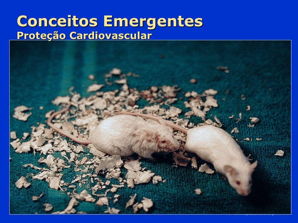 Slide Source Lipids Online Slide Library www.lipidsonline.org Conceitos Emergentes Proteção Cardiovascular