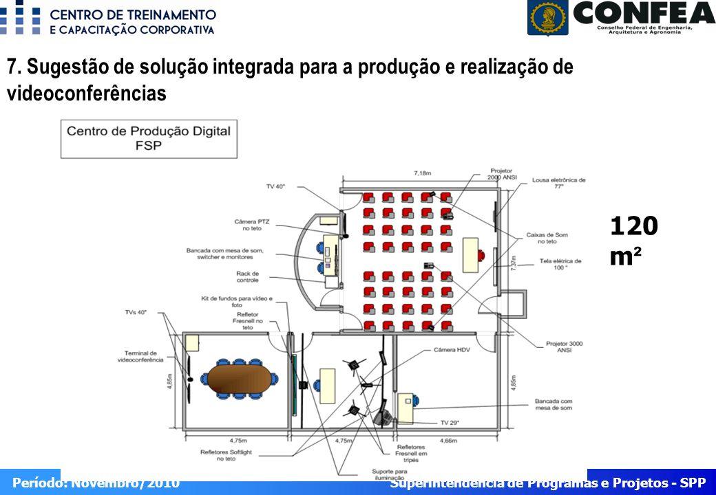 Superintendência de Programas e Projetos - SPP Período: Novembro/2010 7.