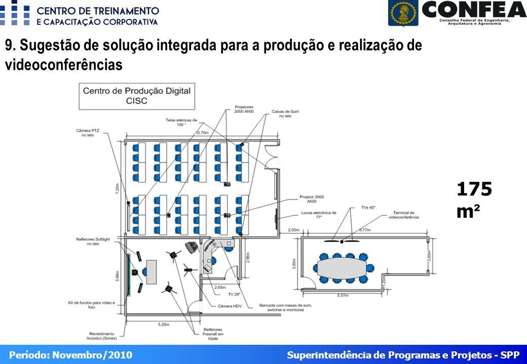Superintendência de Programas e Projetos - SPP Período: Novembro/2010 9.