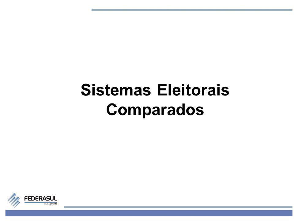 1 Sistemas Eleitorais Comparados