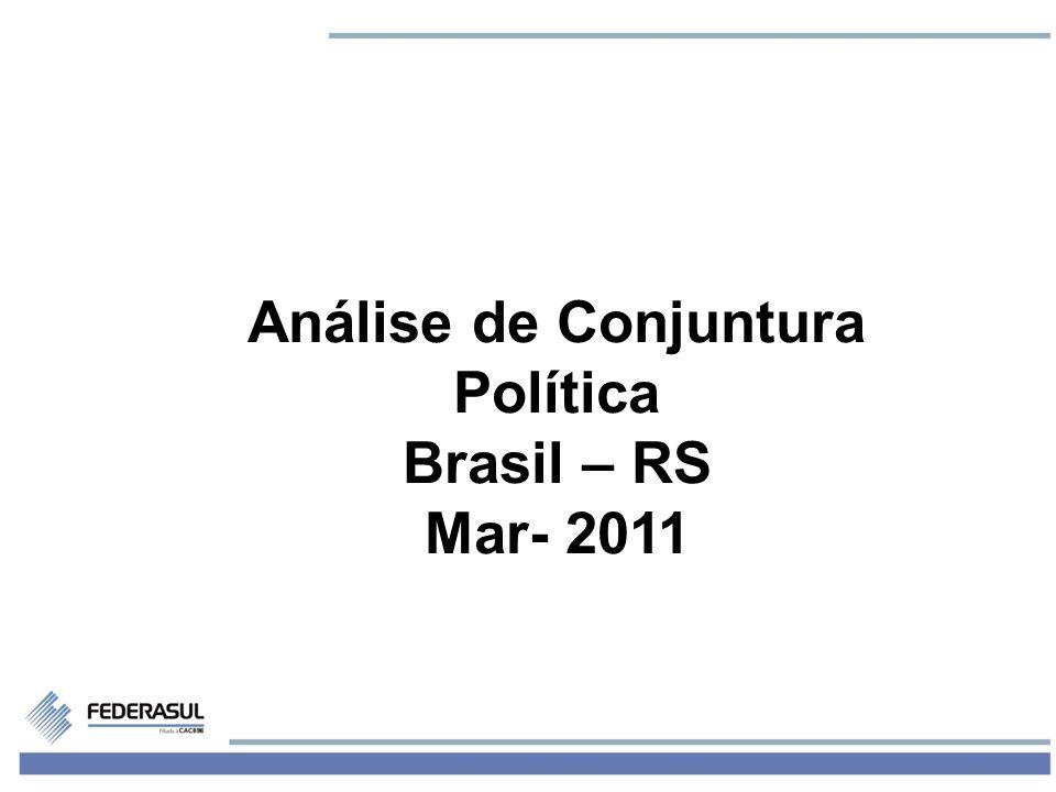 1 Análise de Conjuntura Política Brasil – RS Mar- 2011