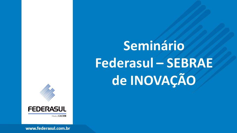 www.federasul.com.br Seminário Federasul – SEBRAE de INOVAÇÃO