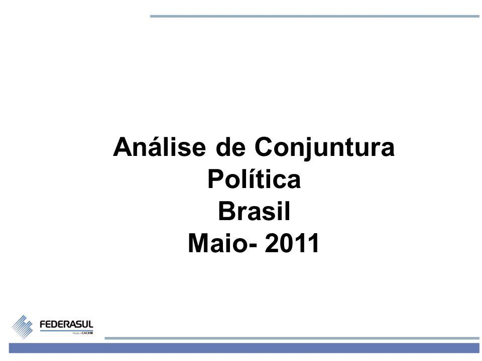 2 Hoje existe uma contradição entre: A imagem do governo As condições políticas reais do governo