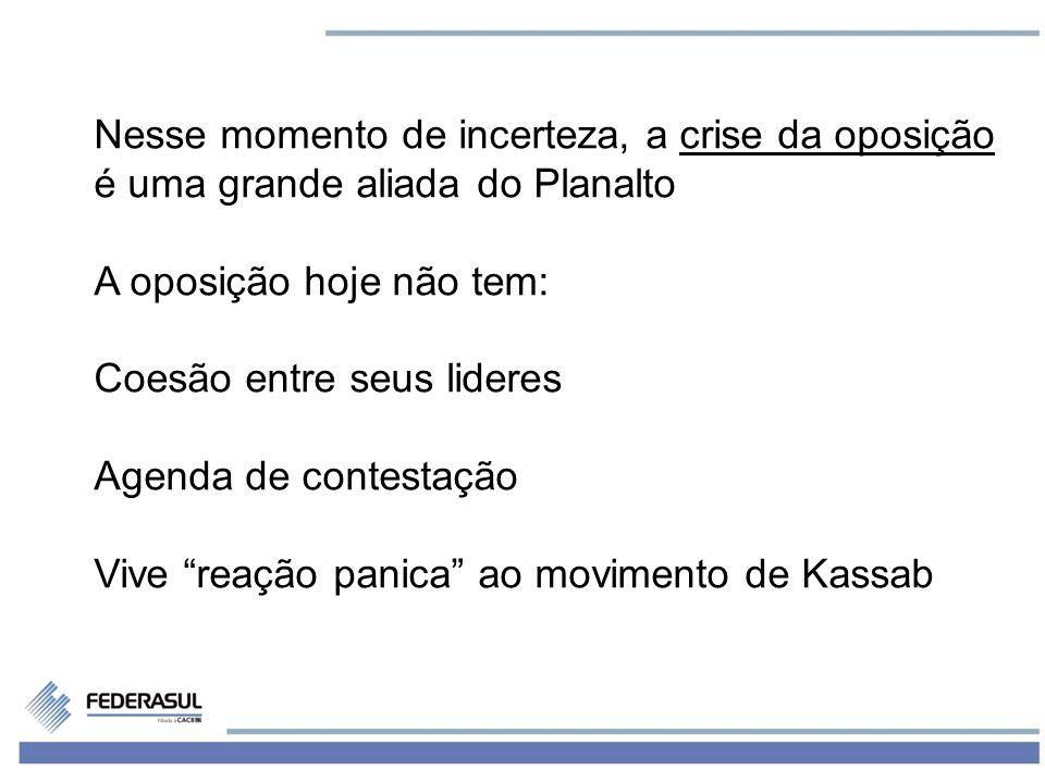 8 Nas proximas semanas, os principais players da política no Brasil serão: 1) O ritmo da alta de preços (inflação) 2) A imprensa (caso Palloci)