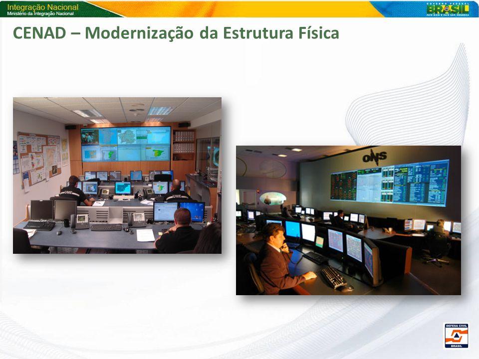 CENAD – Modernização da Estrutura Física