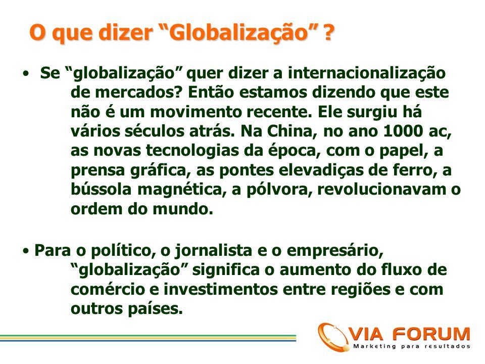 AGENDA oO que se quer dizer com GLOBALIZAÇÃO? oComo que a GLOBALIZAÇÃO está redesenhando a geografia econômica? oQuais os desafios que a transformação