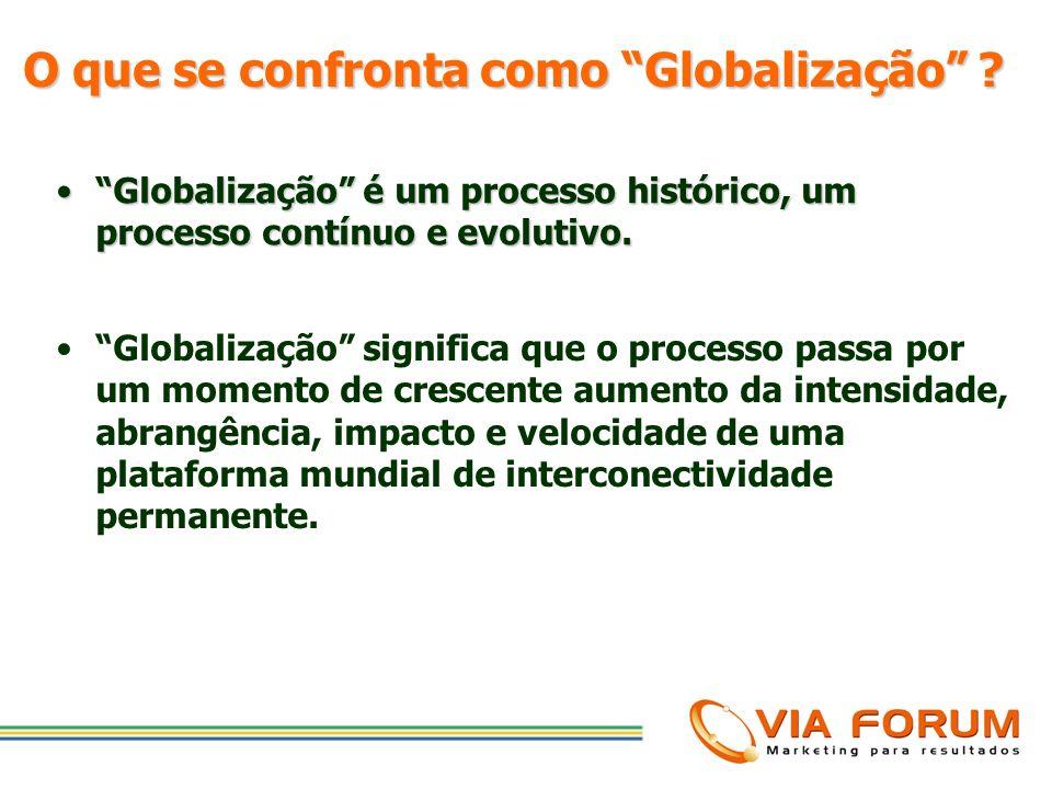 Globalização é um processo histórico, um processo contínuo e evolutivo.Globalização é um processo histórico, um processo contínuo e evolutivo. O que d