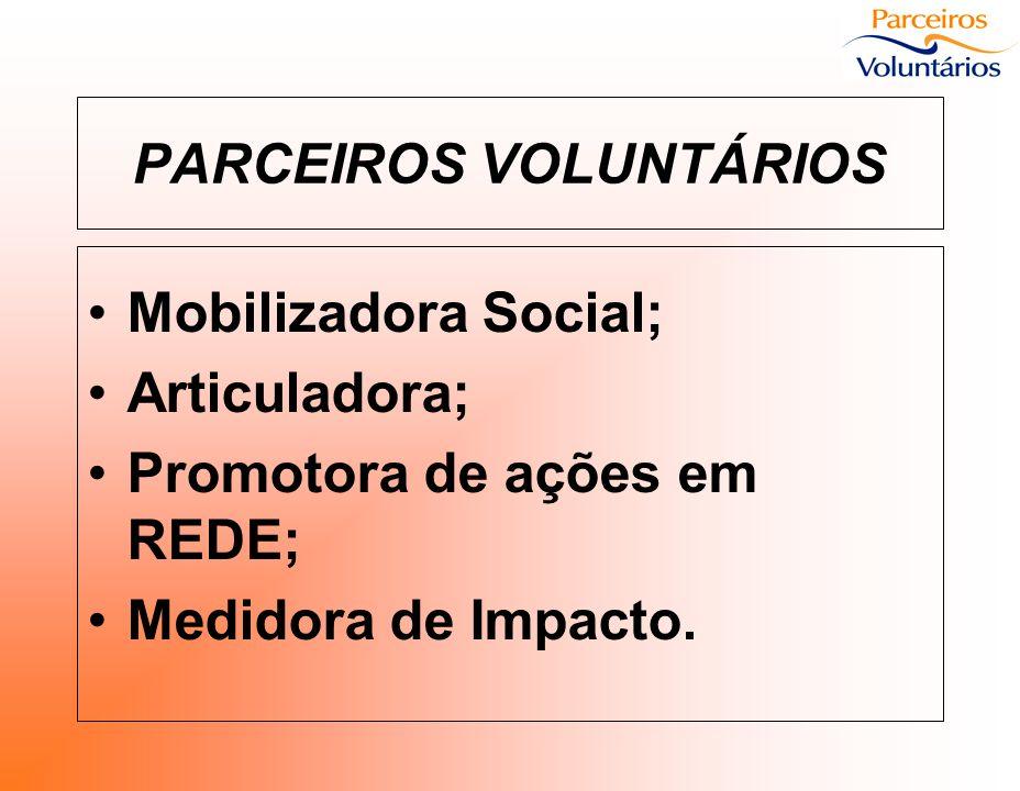PROGRAMA DA REDE Levar a cultura do trabalho voluntário organizado ao maior número possível de municípios, para assim termos um Rio Grande do Sul Voluntário !