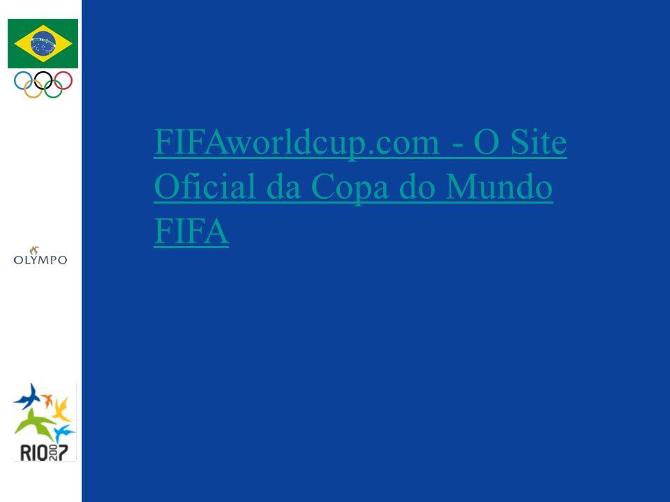 FIFAworldcup.com - O Site Oficial da Copa do Mundo FIFA