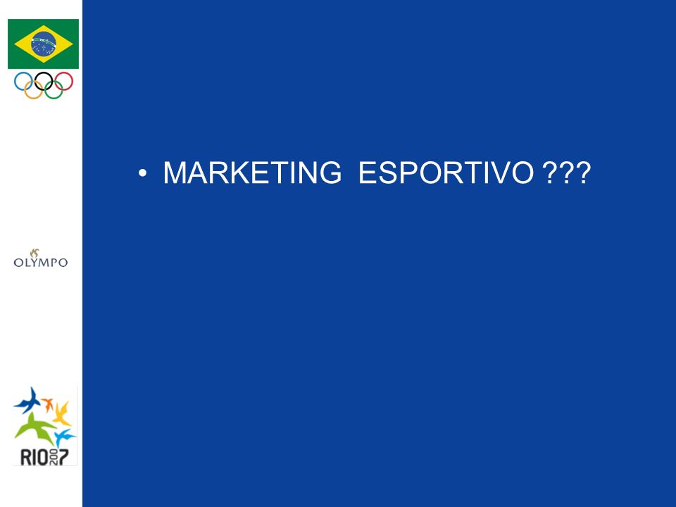 O patrocínio de uma propriedade é uma plataforma de marketing!!.