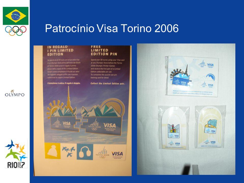 Patrocínio Visa Torino 2006