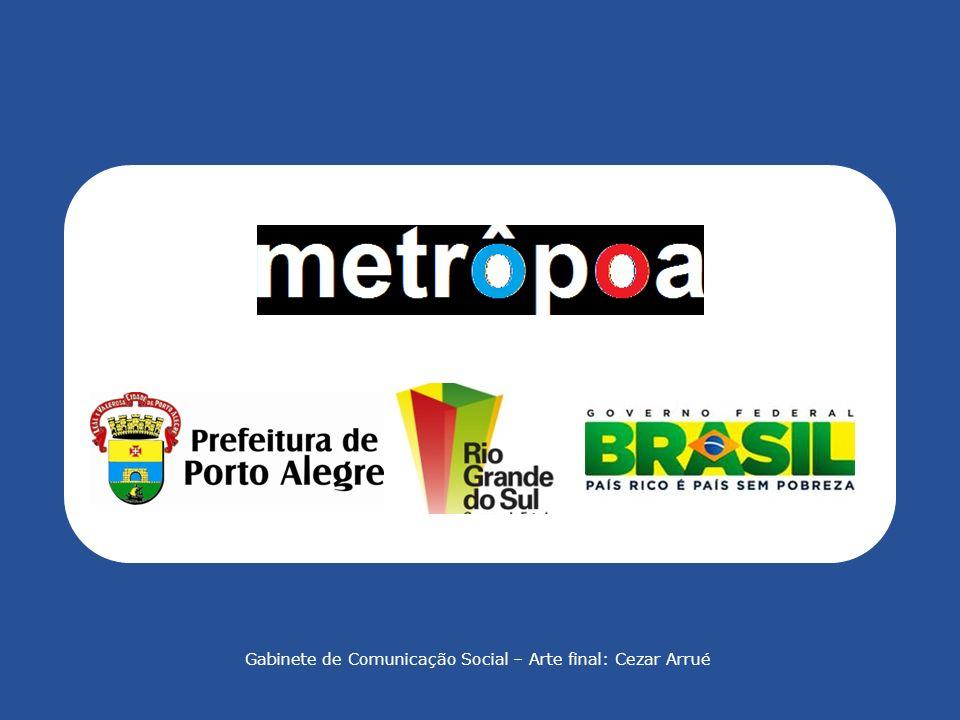 PROPOSTA DE PPP PARA O METRÔPOA Comitê Gestor de Parcerias Público-Privadas de Porto Alegre METRÔPORTO ALEGRE DE