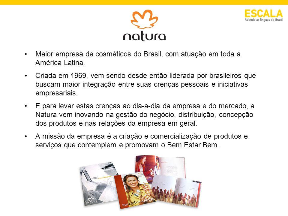 Maior empresa de cosméticos do Brasil, com atuação em toda a América Latina. Criada em 1969, vem sendo desde então liderada por brasileiros que buscam