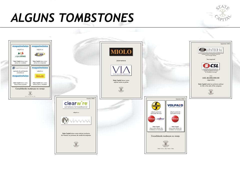ALGUNS TOMBSTONES