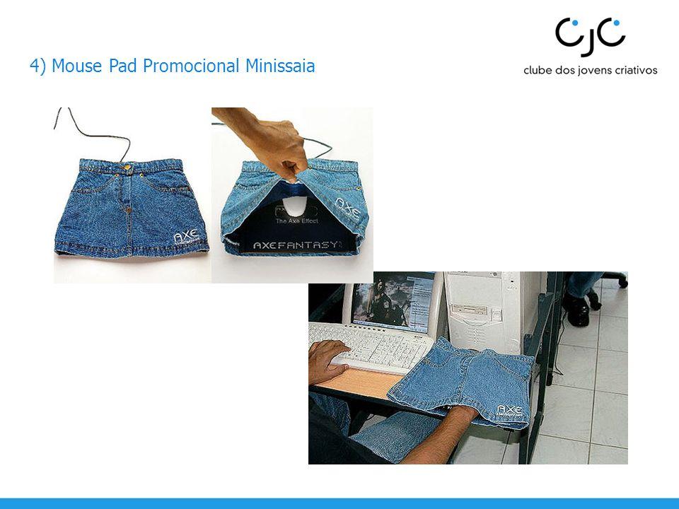 4) Mouse Pad Promocional Minissaia