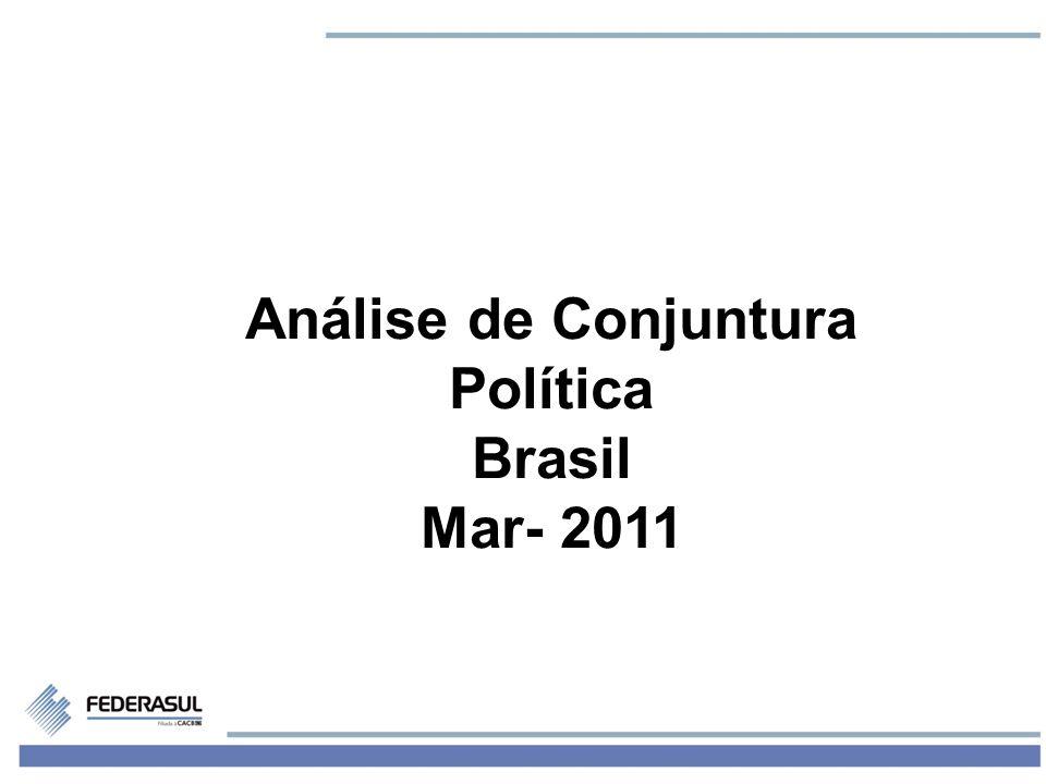 1 Análise de Conjuntura Política Brasil Mar- 2011
