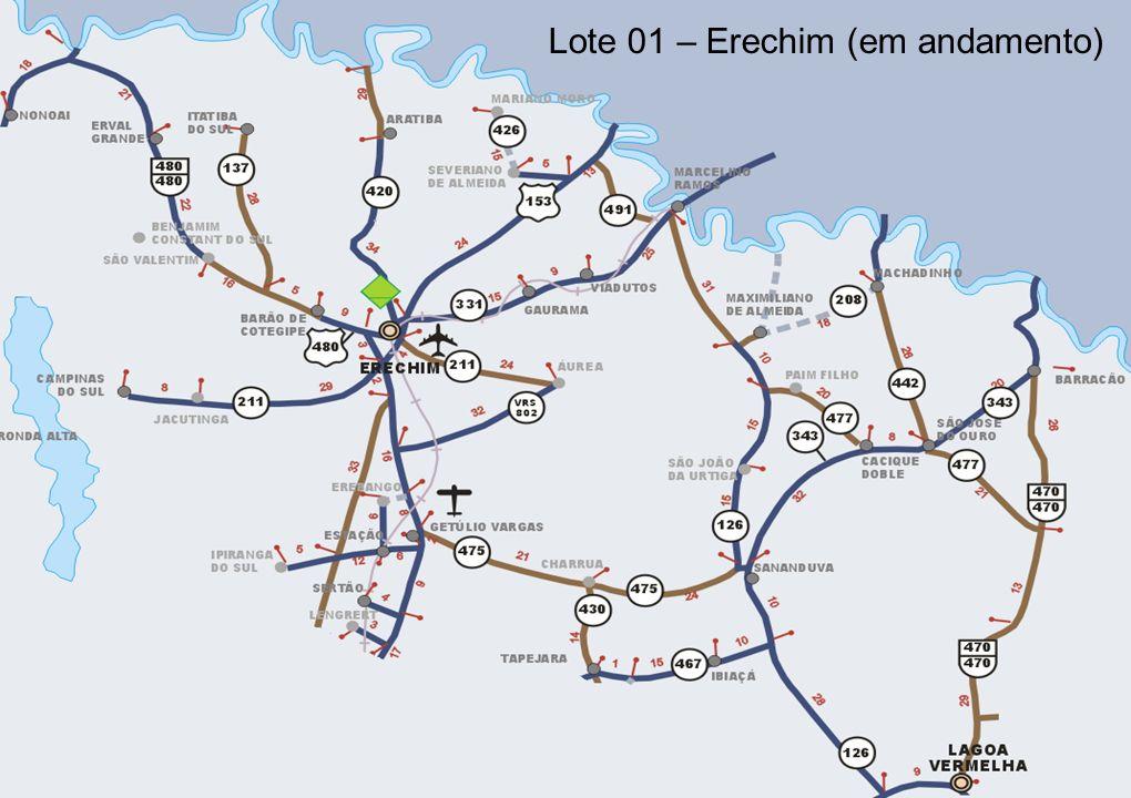 15 Lote 01 – Erechim (em andamento)