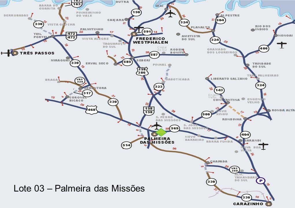 18 Lote 03 – Palmeira das Missões