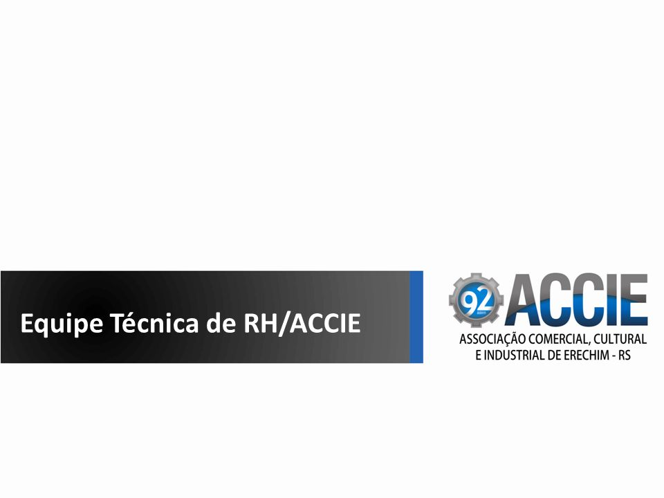 Equipe Técnica de RH/ACCIE