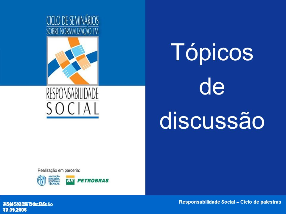 ABNT/CEET de RS 18.10.2006 Responsabilidade Social – Ciclo de palestras Aron Belinky GAO / Ecopress Princípios na ISO 26000 Obrigado.