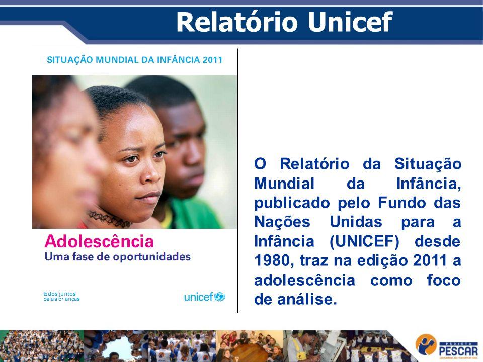 Relatório Unicef O Relatório da Situação Mundial da Infância, publicado pelo Fundo das Nações Unidas para a Infância (UNICEF) desde 1980, traz na ediç