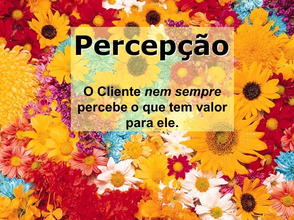 Bom dia associado! Federasul 2010 Percepção O Cliente nem sempre percebe o que tem valor para ele.