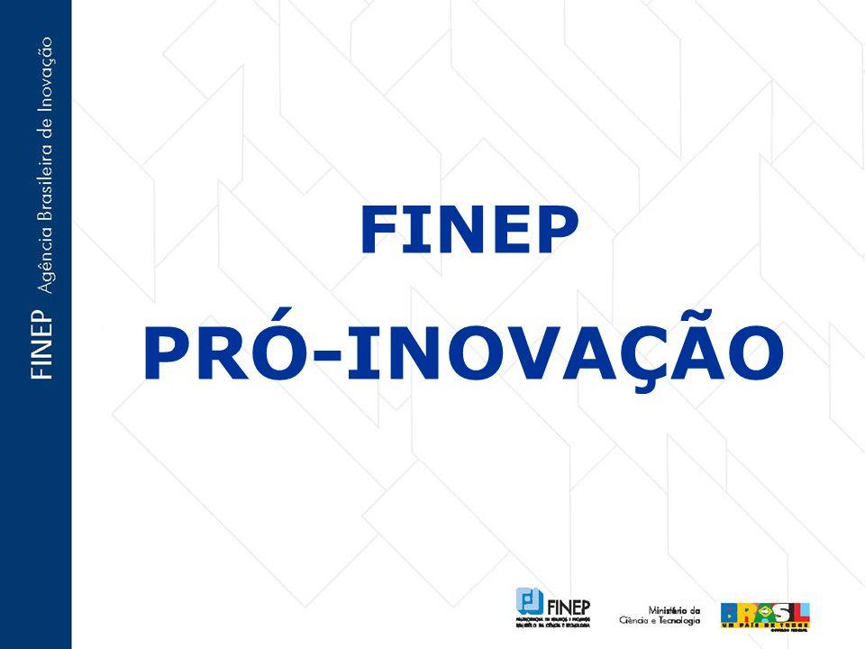 FINEP PRÓ-INOVAÇÃO