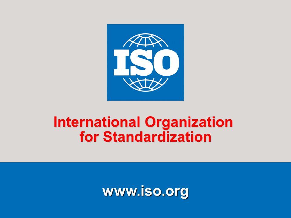 4 www.iso.org International Organization for Standardization